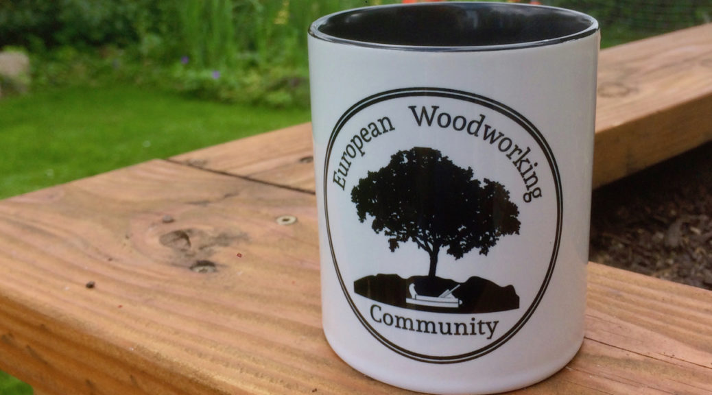 European Woodworking Community Tasse